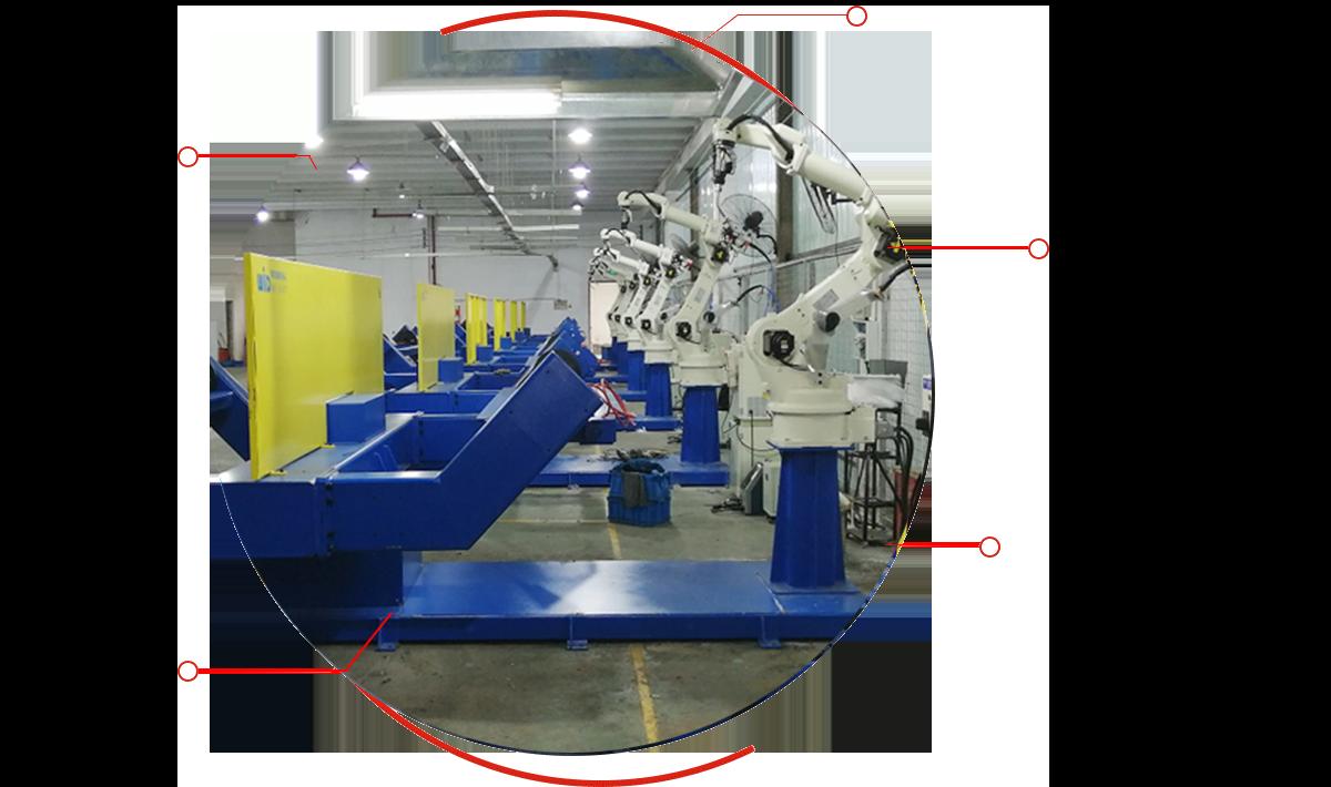 韦尔迪-弧焊机器人工作站