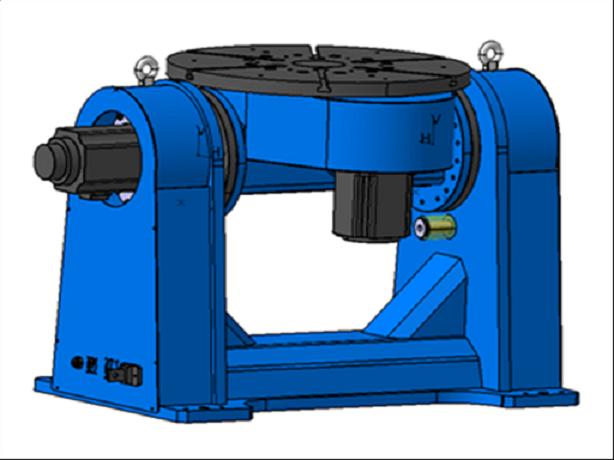机器人双轴焊接变位机