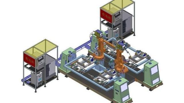 机器人上下料工作站是怎么运作的?