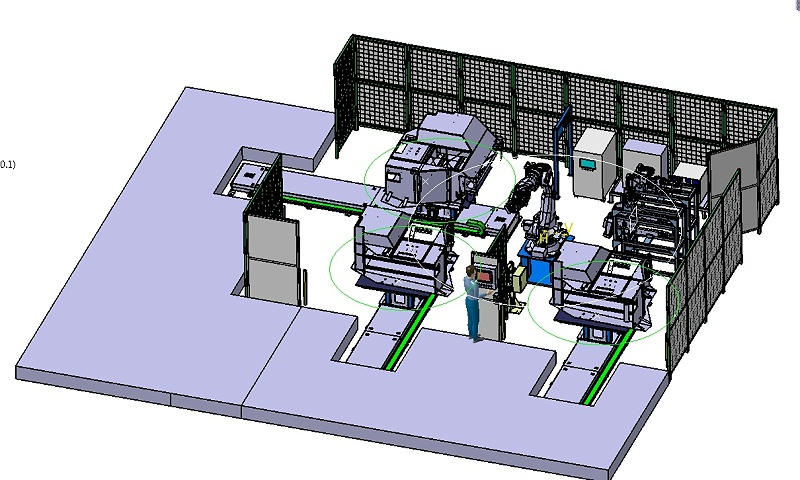 农机工程焊机工作站