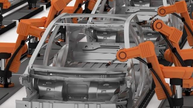 焊接机器人在汽车制造行业中的应用