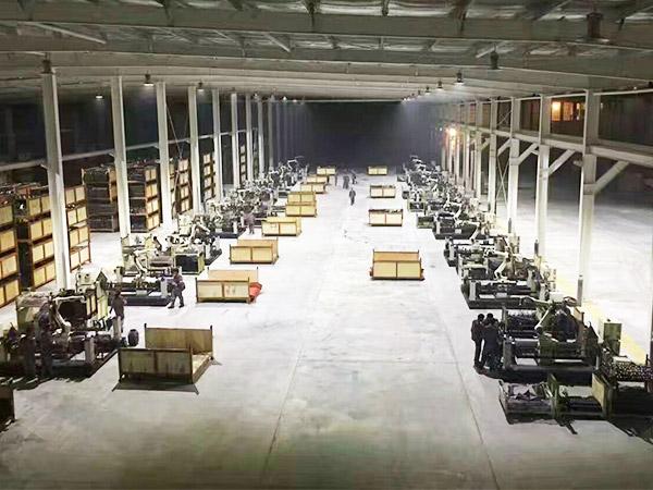运动器材机器人焊接工作站案例!