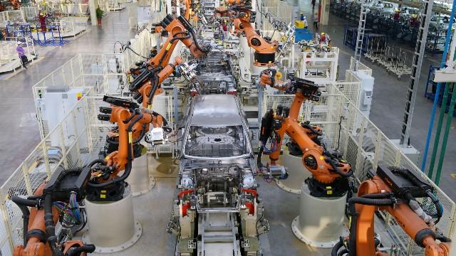 汽车自动化生产线
