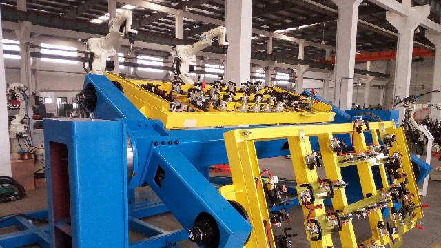 焊接机器人变位机工作站
