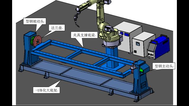 焊接变位机的优点和组成部分