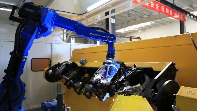 机器人焊接设备在高空机械与吊篮行业中的应用有哪些?
