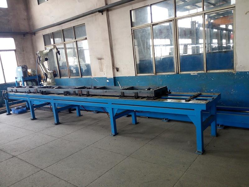 地轨焊接工作站1