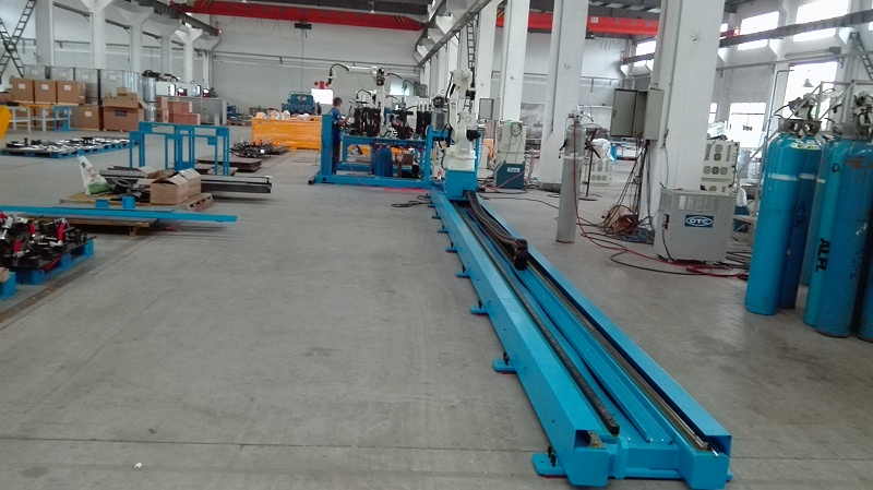 地轨焊接工作站3