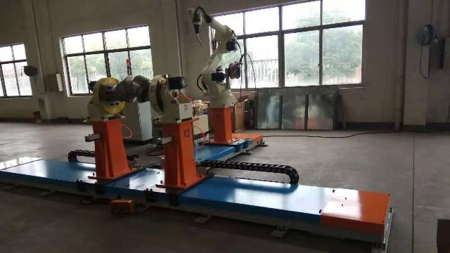 地轨T型焊接工作站