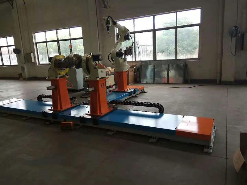 T型轨道焊接工作站6