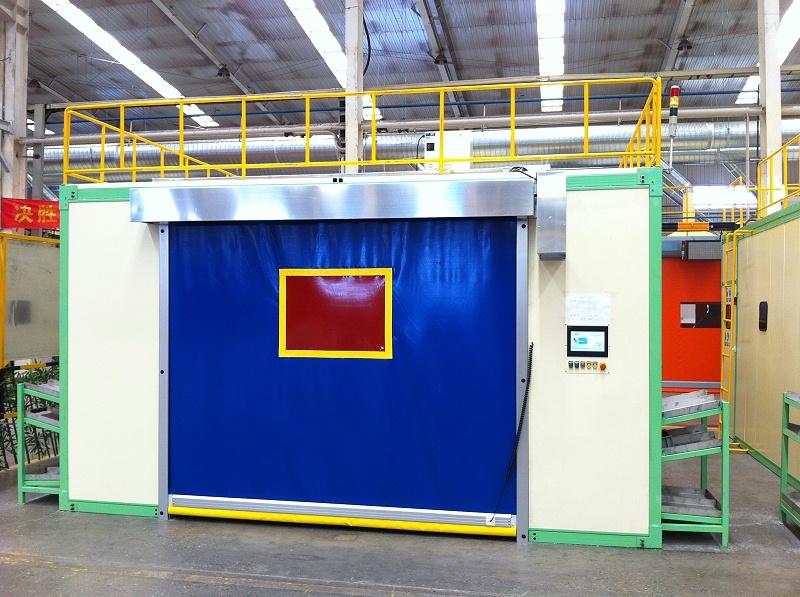 焊接机器人焊房工作站