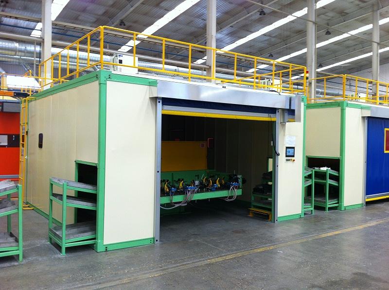 焊接机器人焊房焊接工作站1