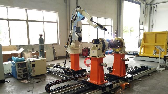 OTC焊接机器人工作站