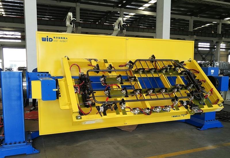 焊接机器人变位机工作站1