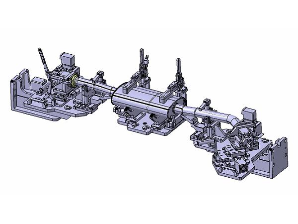 汽车排气管焊接夹具