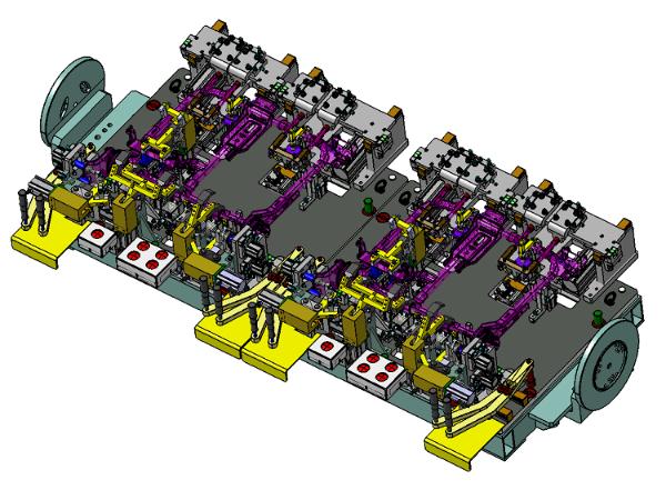 汽车座椅焊接夹具