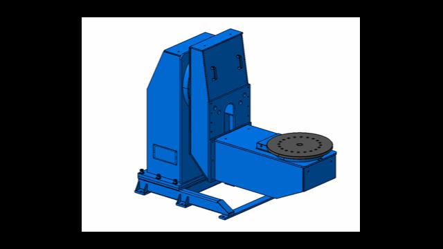 L型双回转焊接变位机的工作原理