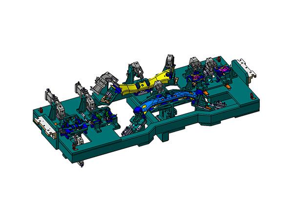 汽车副车架焊接夹具