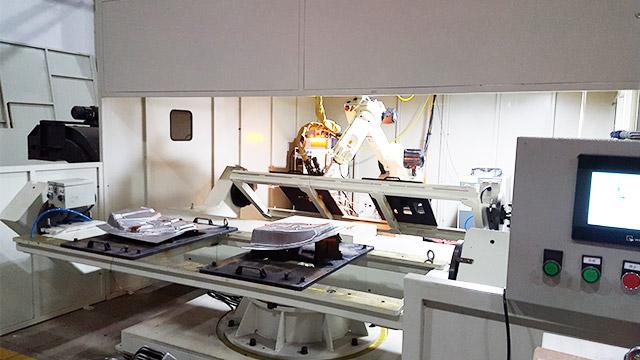 激光切割工作站