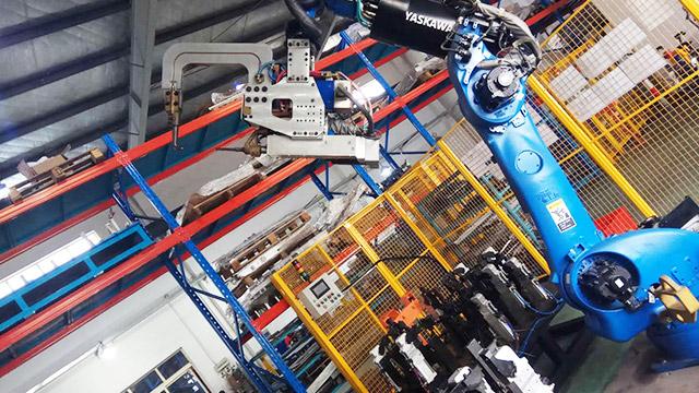 韦尔迪分享焊接机器人工作站的工作原理!
