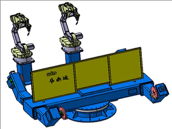 机器人水平三轴焊接变位机